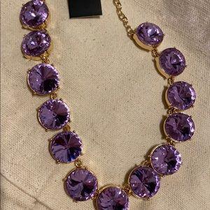NWT Baublebar Rhinestone Necklace